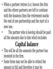 PARTNERSHIP ACCOUNTS -RETIREMENT OF A PARTNER.ppt
