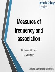 F_Filippidis_Measures of frequency and association_14.10.2014.pptx