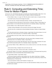 Rule 26 - Support Us Federal Rules of Civil Procedure/rules/frcp ...