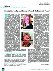 Knowledge and Theory of Nursing in todays economy