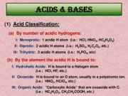 Ch. 16  Acids & Bases Powerpoint Overview CHEM 185