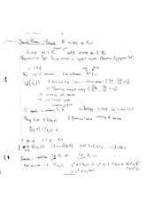 Social Planner Problem and Steady States Notes