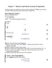 Project 1 - Matrices and LinearSystems of Equations (2).pdf