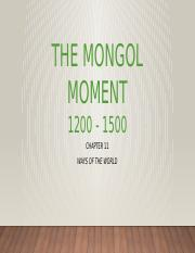 The Mongol Moment