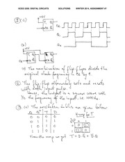 ECE 2200 Fall 2014 Assignment 7 Solutions
