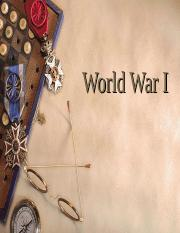 WWI 1 website
