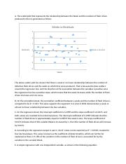 solution to Correlation and Regression