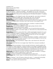 Journalism 3760 Study Guide1