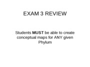 EXAM 3 Review_BSC1011