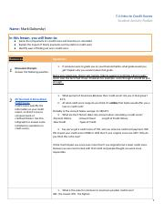 Copy of Intro to Credit Scores - Student Activity Packet SC-7.4
