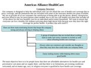 Week 6 Assignment_ Job Fair Brochure_Americas Alliance HealthCare