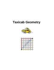 Taxicab Geometry Project A
