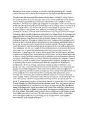 factors reducing prejudice essay Religion and reducing prejudice: a social psychological perspective  religion and reducing prejudice: a social psychological  religion and reducing prejudice.