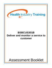 BSBCUS301B-Deliver-and-monitor-a-service-to-customer.doc