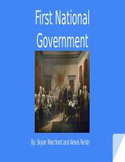 First national government.pptx