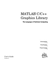 Computer - MATLAB C++ Graphics Library User's Guide
