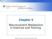 Nutrition Chapter_05  lecture notes