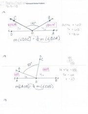 Concepts of Math Notes 7