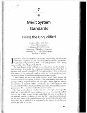 7 Merit System Standards Hiring the Unqualified (1)
