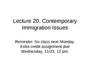 Lecture+19.Contemporary+Immigration