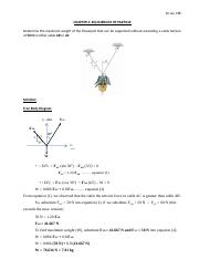 CHAPTER 3 Equilibrium of particle (question and answer).docx