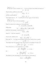 Differential Equations Lecture Work Solutions 22