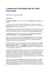 Comparative Advantage and the Gains from Trade internet.docx