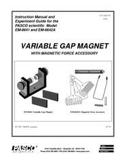 EM-8641 & EM-8642A_Variable-Gap-Magnet-Manual-