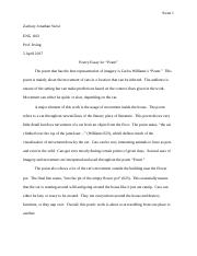Paper #2 - Writing about Poetry Writing Response.docx