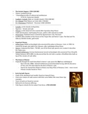 Chapter 4 Ancient Aegean Art ppt notes
