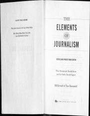 Elements of Journalism - Intro & Chapter 1 - What is Journalism for.pdf
