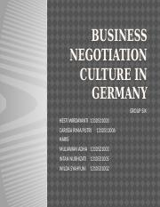 Business negotiation culture in germany.pptx