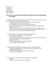Chapter 3 Reading Questions - Vested Outsourcing