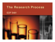 1 - Chapter 1 - Research and the Scientific Process