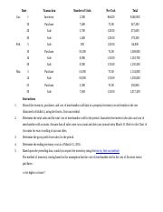 Chapter 6 Accounting Hw