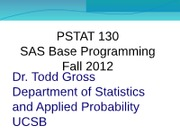 PSTAT_130_F12_Lecture_9