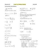 Exam2_2005Fall_Solutions