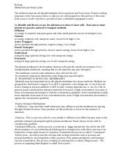 worksheet 1 - 1. Describe how humans are related to other ...
