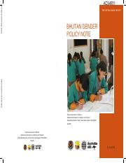 Bhutan Gender Policy Note.pdf