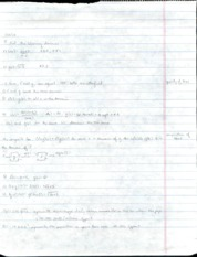 Algebra 2 Lecture 4 Notes