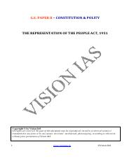 (Polity) THE REPRESENTATION OF THE PEOPLE ACT 1951.pdf