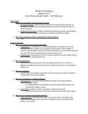 health psych final Study Guide – Old Material.docx