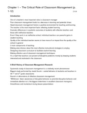 Marzano Notes (EDUC 2270 text)