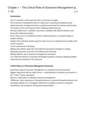 Marzano Notes (EDUC 2270 text)
