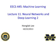 EECS445-Lecture11+Neural+Networks+and+Deep+Learning