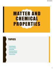 01 Matter and Properties Slides
