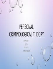Personal Criminological Theory.pptx
