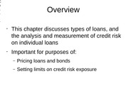 credit risk lecture 9
