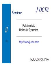Session 04 - Coarse Grained Molecular Dynamics [Chemical
