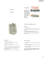 PDF LESSON 5 - NEWSPAPERS